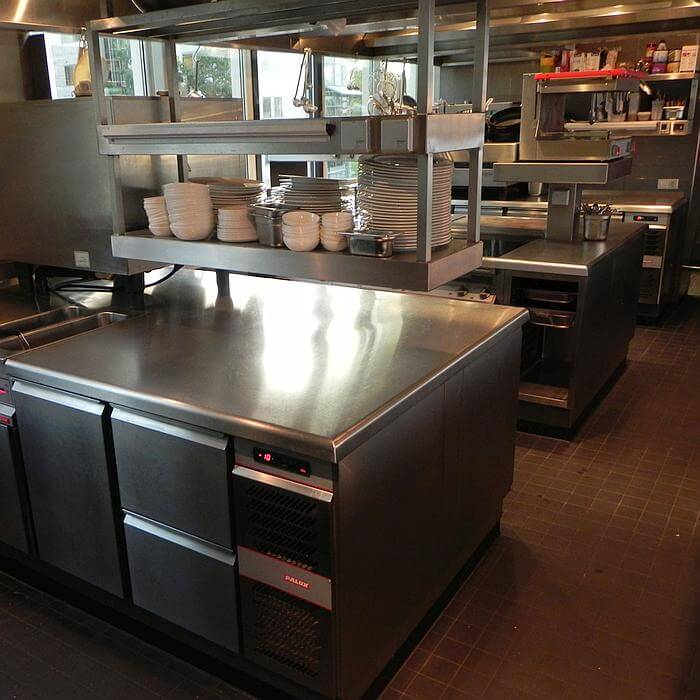 Keuken Cafe-Restaurant Riva Amsterdam 700x700