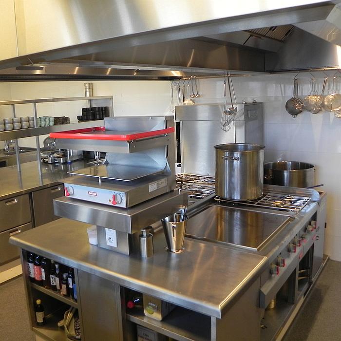 PALUX FunctionLine Keuken HMB Restaurant Rotterdam