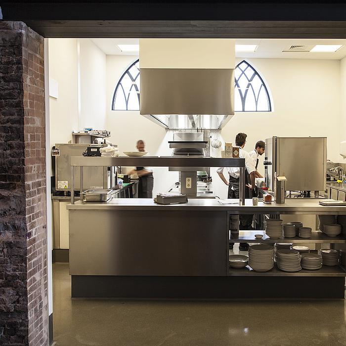PALUX TopLine Keuken Restaurant Bij Qunis Lijnden