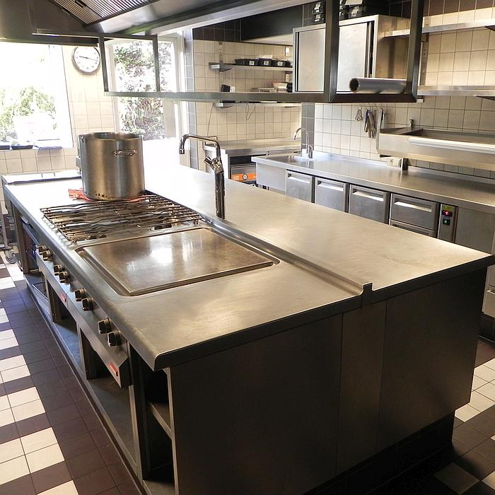 PALUX FunctionLine Keuken Restaurant Choux Amsterdam