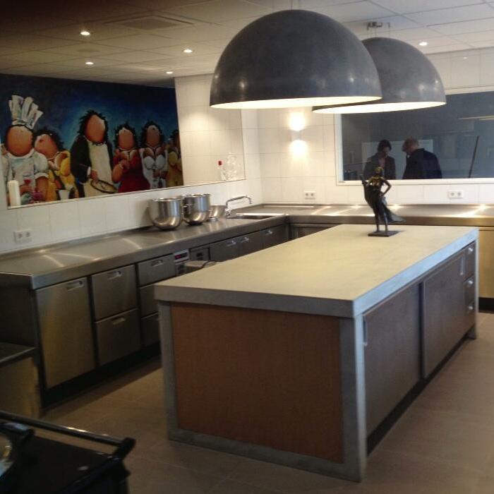 PALUX TopLine Keuken Restaurant-Hotel De Lindenhof Giethoorn