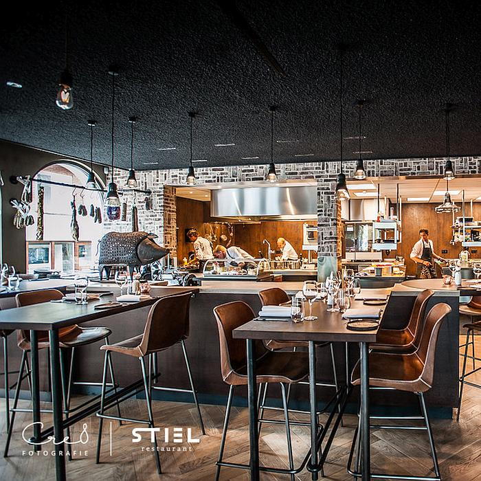 PALUX Maître Open keuken Restaurant Stiel Schagen
