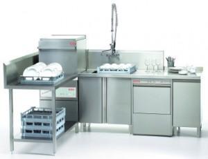 PALUX vaatwasmachine GSC 600 hoekopstelling