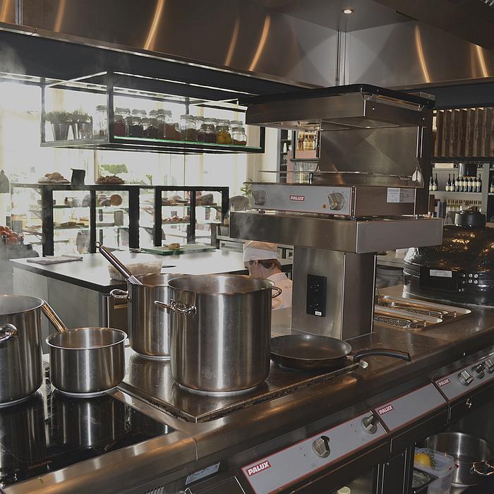 TopLine Twin-Go Kookeiland Restaurant Dries en Co Elst