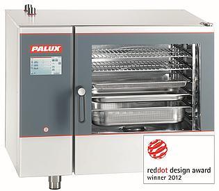PALUX Professionele Combisteamer TS 611QL - Touch and Steam Reddot Design Award