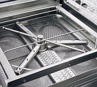 Het spoelsysteem van de PALUX vaatwasmachines